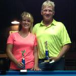 Randy and Christie placed 2nd in the Scotch Doubles Division